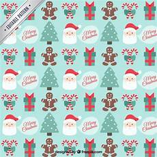 free vector merry christmas pattern