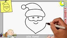 weihnachtsmann zeichnen lernen einfach schritt f 252 r schritt