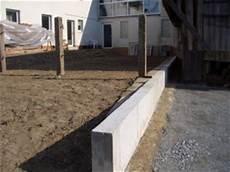 Pool Mauern Oder Betonieren - zaunsockel betonieren kosten schau unter die haube