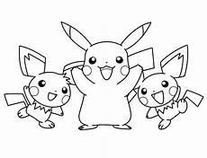 Malvorlagen Pikachu Pikachu Coloring Pages Thingkid Malvorlagen