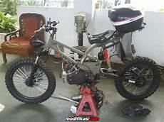 Modifikasi Motor Bravo by Ask Modif Suzuki Bravo A K A Rc100