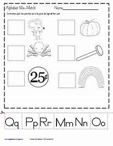 worksheets letter mix up 24280 alphabet letters and sounds mix match for kindergarten by maggie s kinder