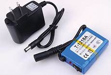 rechargeable lithium battery 12v 1800mah capacity for cctv