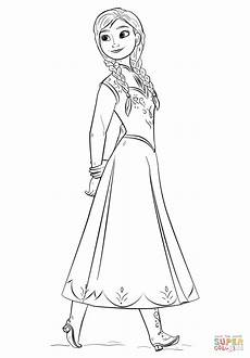 malvorlagen frozen from the frozen coloring page free printable