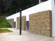 facade en de parement le parement de fa 231 ade en gabions design et durable
