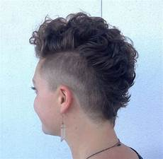 mohawk haircuts for girls 25 exquisite curly mohawk hairstyles for girls women
