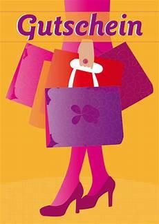 Quot Shopping Gutschein Quot Grafik Illustration Als Poster Und