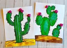 studio 5 project corner black glue cactus crafts