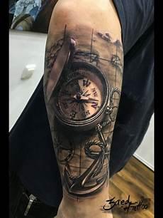 kompass unterarm kompass anchor ideas kompass tattoos