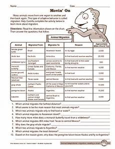 animal migration worksheets 14057 animal migration worksheet search high school math lessons science worksheets math