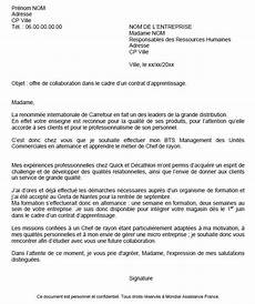 lettre de motivation pour un apprentissage cover letter exle exemple de lettre de motivation pour une formation par alternance