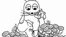 Ausmalbilder Maus Elefant Ente Blumenwiese Die Sendung Mit Der Maus Wdr