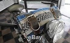 Couverture Mexicaine La Rosa Blue Grey Moto Harley Davidson