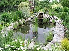 a water garden in a residence