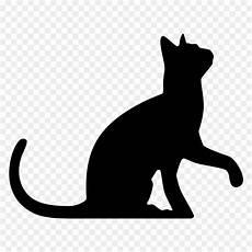 black cat silhouette wedding cake topper clip animal