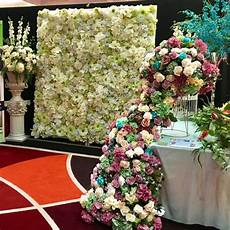 for hire flower wall hire cheap perth white green wall cheapest in perth 210 x 230cm event