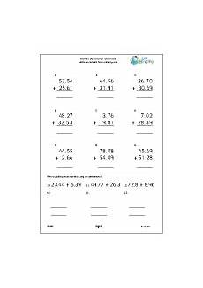 year 5 maths worksheets age 9 10