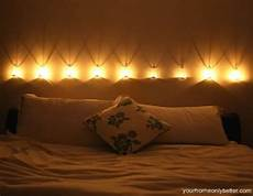 romantisches bett mit kerzen 69 bedroom lighting ideas digsdigs