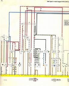I M Looking For A Color Coded Wiring Diagram For A 1973 Vw