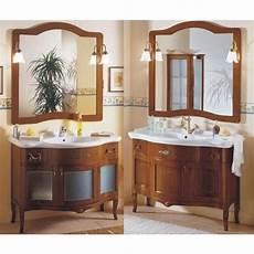 accessori bagno rustici mobile bagno modello donatello 109 cm anticato fatto a