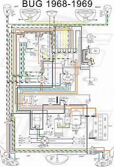 Vw Tech Article 1968 69 Wiring Diagram