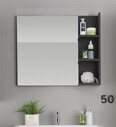 badspiegel mit regal badspiegel quot quot grau 80x70 cm g 252 nstig kaufen
