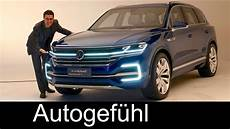 All New Vw Touareg 3 Preview 2017 As Volkswagen T Prime
