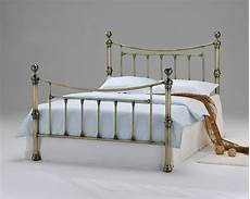 victorian antique vintage brass metal bed shabby chic