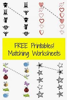 free printable pre k matching worksheets planet weidknecht