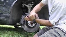2005 audi s4 b6 brake pad replacement novice t youtube