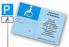 parkausweis für behinderte unbefristet euroschl 252 ssel und parkausweis kadomo gmbh