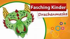 basteln zum fasching fasching kinder drachenmaske basteln trendmarkt24