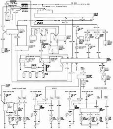 1984 Ford Bronco Wiring Schematic by Repair Guides Wiring Diagrams Wiring Diagrams