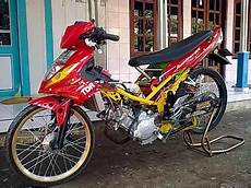 Modifikasi Jupiter Z Simple by Modifikasi Motor Simple Yamaha Jupiter Z Pelek Jari