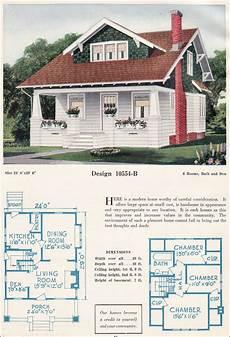 bungalow house plans 1920s c 1923 bungalow c l bowes forward gable bungalow