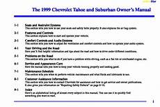 download car manuals pdf free 1999 gmc ev1 security system 1999 chevy suburban owners manual pdf