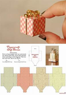 tiny gift box free template from the dapper toad these