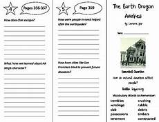 the earth awakes worksheets 14426 the earth awakes trifold journeys 4th grade unit 3 week 2 2014 2017