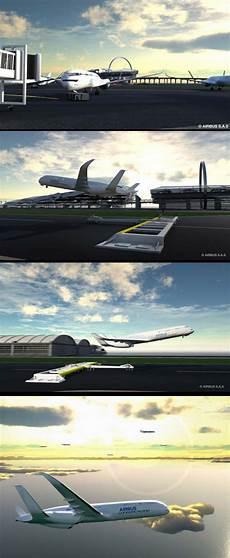 Serius Serius Konsep Pesawat Airbus Tahun 2050 10