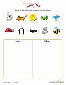 sorting and classification worksheets 7771 count sort and classify printable workbook education