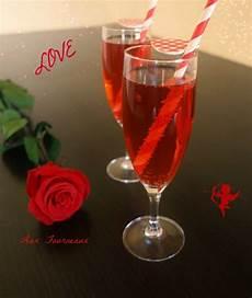 cocktail valentin sans alcool aux fourneaux