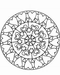 mandala coloring pages hearts 17922 and print mandala coloring pages lots of hearts coloring pages