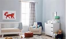 chambre bebe garcon bleu gris