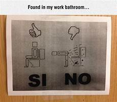 Bathroom Signs For The Office by Work Bathroom Signs Pictures To Pin On Pinsdaddy