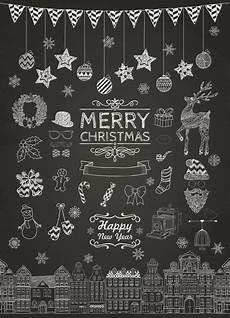 Fensterbilder Vorlagen Weihnachten Kreide Weihnachtskarte Quot Weihnachten Kreide Quot Weihnachtstafel