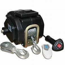 elektrische seilwinde 12v bootswinde elektrische seilwinde 12v funkfernbedienung