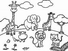 Zootiere Malvorlagen Zoo Animals Coloring Pages At Getcolorings