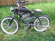 Oldtimer Usa Fahrrad Mit Hilfsmotor Whizzer Bestes