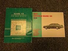 vehicle repair manual 1991 lincoln continental mark vii on board diagnostic system 1991 lincoln mark vii 7 shop service repair manual electrical wiring lsc ebay