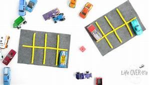 Car Parking Lot Preschool Math Grid Game  Life Over Cs